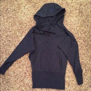 Lululemon flashback sweater hooded sz 10